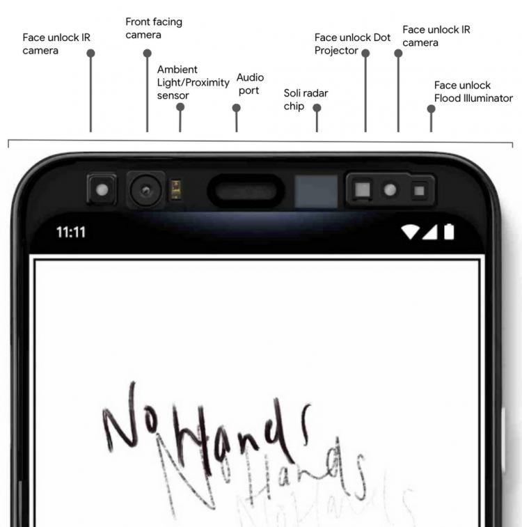 """Google подтвердила две важные функции смартфона Pixel 4"""""""