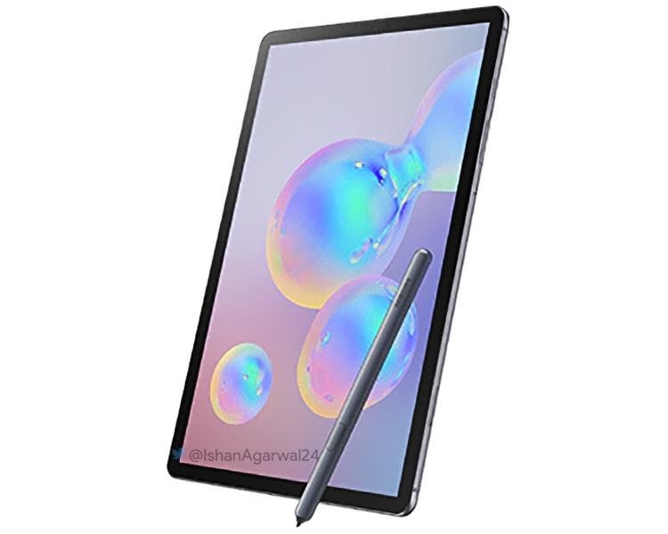 """Планшет Samsung Galaxy Tab S6 будет оборудован экраном WQXGA"""""""
