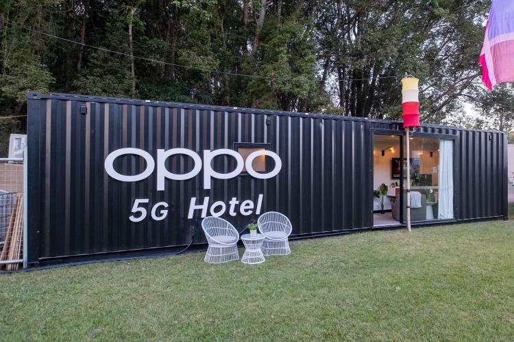 OPPO в Австралии: с 5G и контейнер может стать отелем
