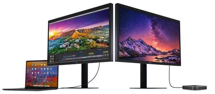 """LG представила монитор UltraFine формата 5K"""""""