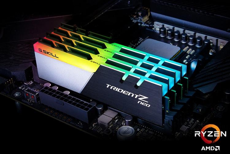 "G.Skill представила оптимизированные для Ryzen 3000 модули DDR4-3800"""
