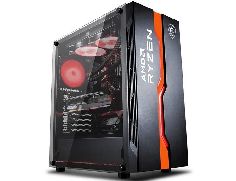 "MSI посвятила корпус MAG Vampiric 011C процессорам AMD Ryzen"""