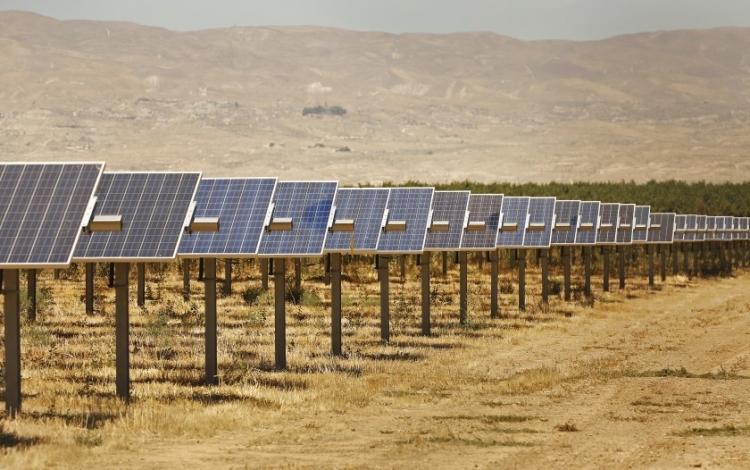 """Калифорнийские фермеры устанавливают солнечные батареи из-за сокращения запасов воды и сельхозугодий"""""""