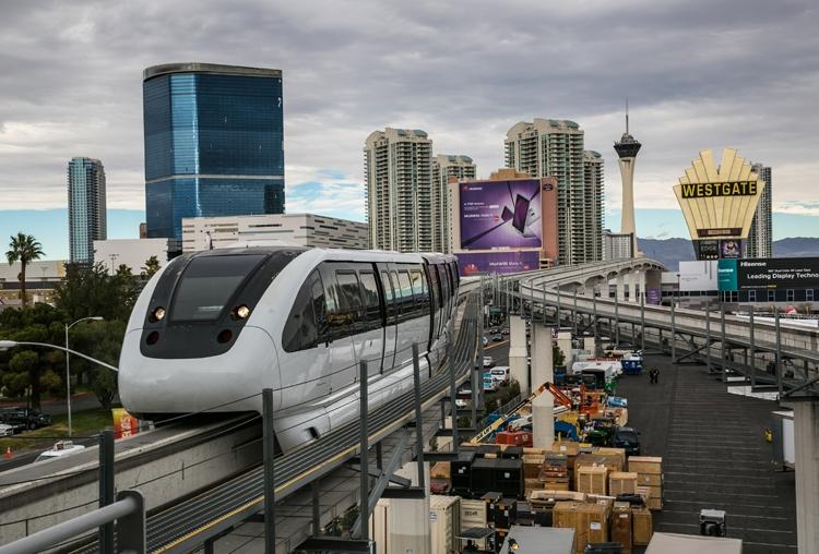 """Туннель Илона Маска встревожил руководство монорельсовой дороги в Лас-Вегасе"""""""