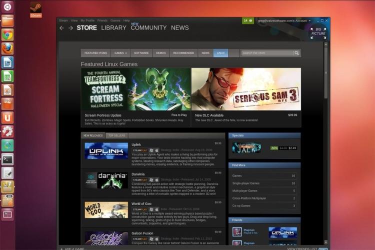 """Доля Linux в Steam падает"""""""