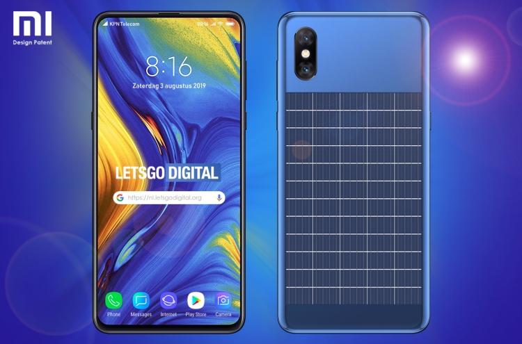 """Xiaomi разрабатывает смартфон со встроенной солнечной панелью"""""""