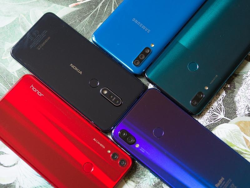 Лучшая камера в смартфоне до 15 тысяч рублей: сравнительный тест Honor 8X, Huawei P smart Z, Nokia 7.1, Samsung Galaxy A50 и Xiaomi Redmi Note 7