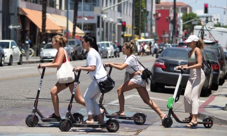 """Исследование показало, что электрические скутеры не так экологичны, как принято думать"""""""