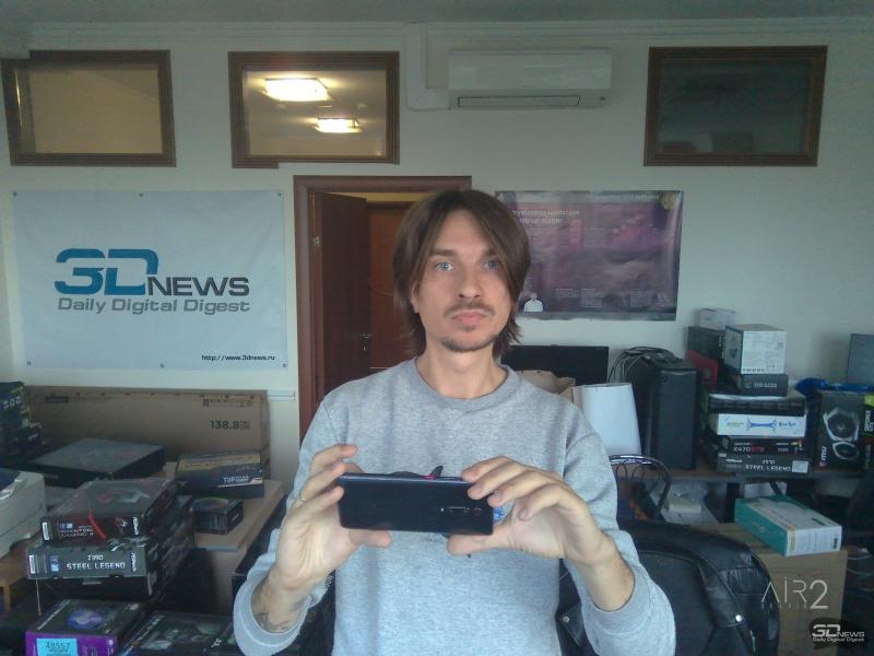 Портрет в интерьере 3DNews