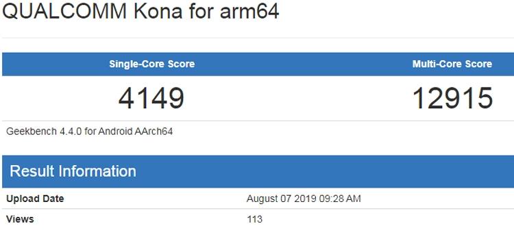 """Бенчмарк даёт представление о производительности чипа Snapdragon 865"""""""