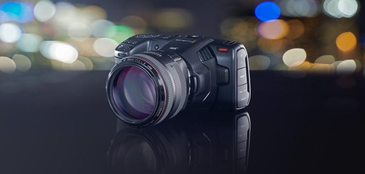 """Новая кинокамера Pocket Cinema от Blackmagic умеет снимать 6K RAW при стоимости в $2495"""""""