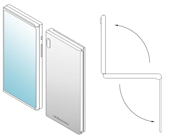 "LG создаёт смартфон двойного складывания Z-Fold"""