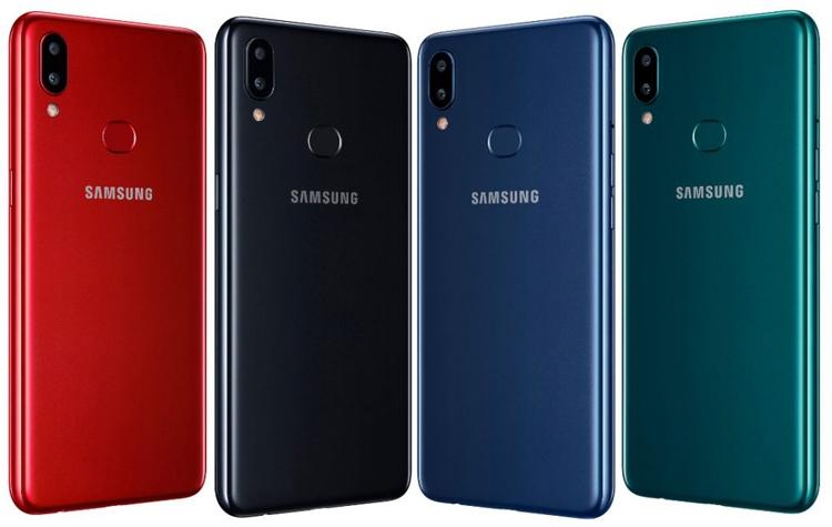 "Смартфон Samsung Galaxy A10s получил экран Infinity-V и ёмкий аккумулятор"""