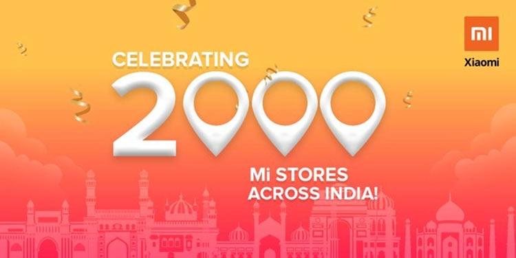 """Xiaomi открыла 2000-й магазин Mi в Индии, а к концу 2019 года планирует открыть более 10 тысяч"""""""