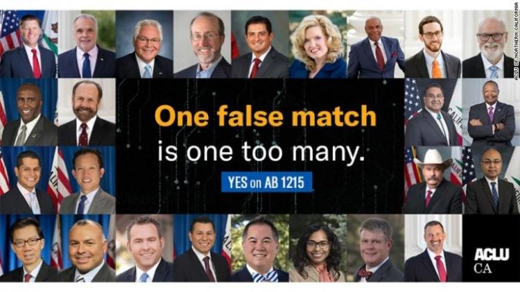 """Технология распознавания лиц ошибочно идентифицировала 26 калифорнийских законодателей как преступников"""""""