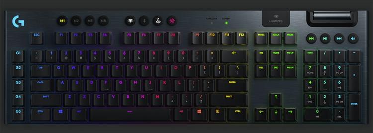 """Игровая клавиатура Logitech G915 Lightspeed оценена в $250"""""""