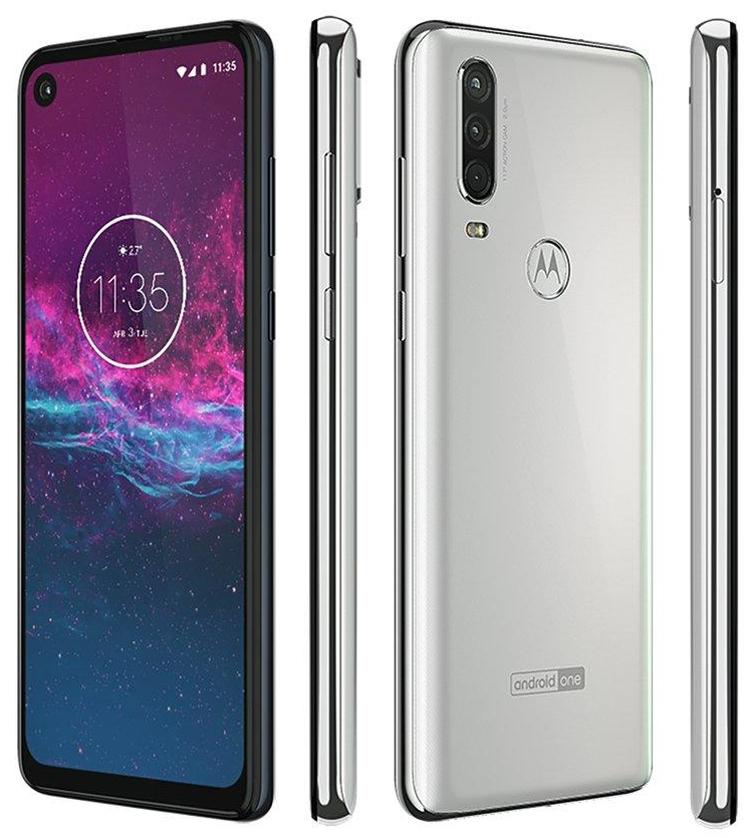"""Смартфон Motorola One Action показался со всех сторон"""""""