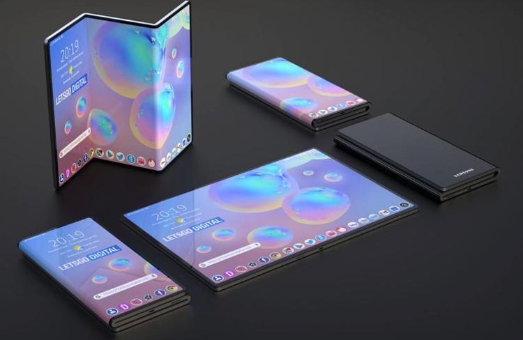 """Samsung может выпустить смартфон с гибким дисплеем Z-образной формы"""""""