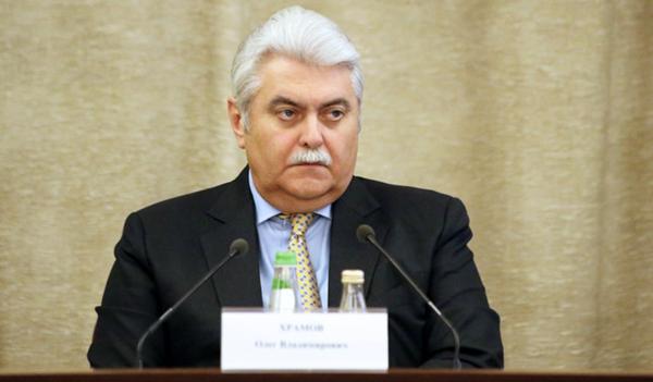 Заместитель секретаря Совета безопасности России Олег Храмов (фото: информационной группы «Интерфакс», interfax.ru)