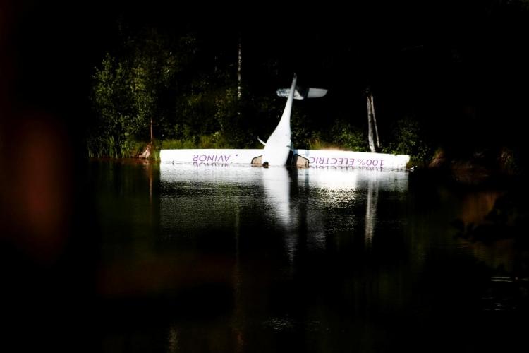 """В Норвегии произошло крушение электросамолёта"""""""