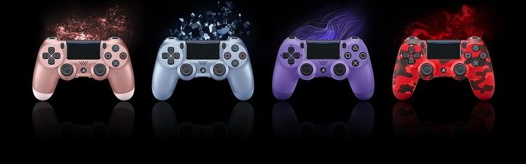 """Sony представила четыре новые расцветки DualShock 4"""""""