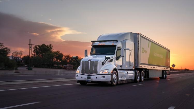Сервис экспресс-доставки UPS инвестировал в самоходные грузовики TuSimple