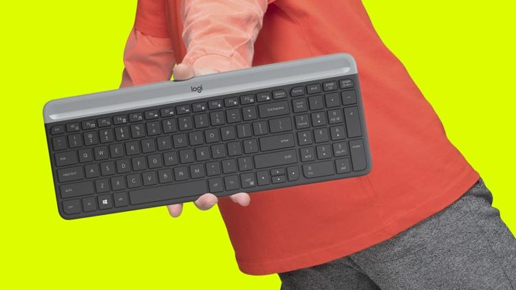 """Logitech MK470 Slim Wireless Combo: беспроводные клавиатура и мышь"""""""