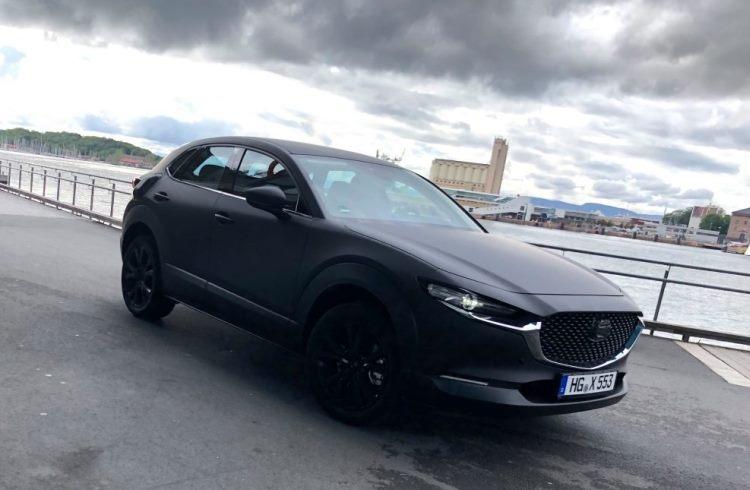 "Первый электрокар Mazda замечен на улицах Норвегии"""