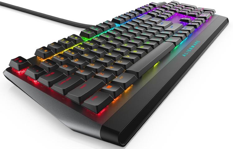 """Alienware AW510K: низкопрофильная механическая клавиатура с RGB-подсветкой"""""""