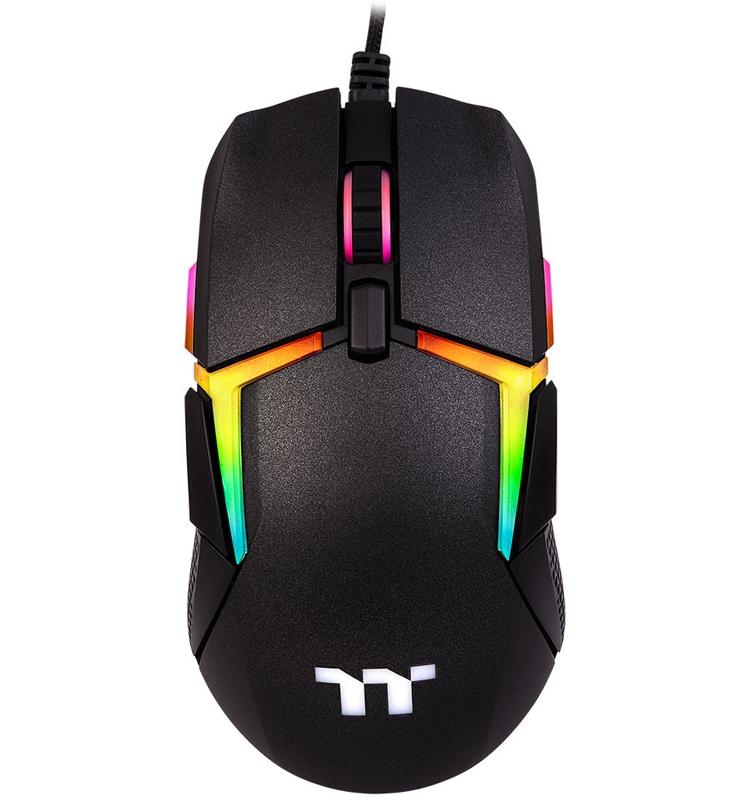 """Thermaltake Level 20 RGB Gaming Mouse: мышь с оригинальной подсветкой"""""""