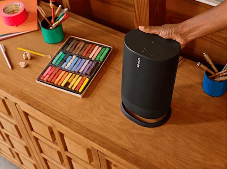 """Неанонсированная Bluetooth-колонка Sonos с питанием от батареи засветилась в Сети"""""""