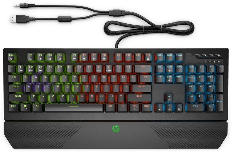 """HP представила игровые механические клавиатуры Omen Encoder и Pavilion Gaming Keyboard 800"""""""