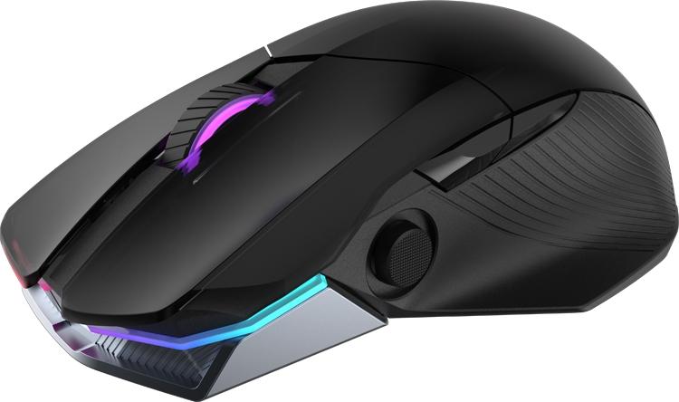 """Игровая мышь ASUS ROG Chakram поддерживает беспроводную подзарядку Qi"""""""