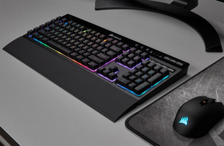 """Клавиатура Corsair K57 RGB может подключаться к ПК тремя способами"""""""
