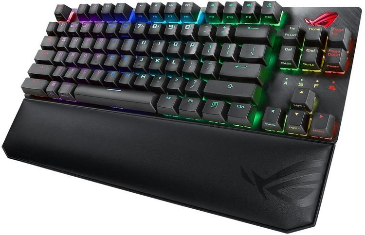 "ASUS представила игровую механическую клавиатуру ROG Strix Scope TKL Deluxe"""