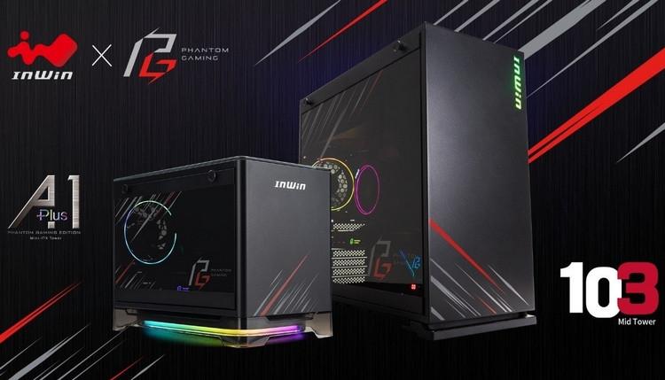 """In Win представила корпуса A1 Plus и 103 Phantom Gaming Edition"""""""