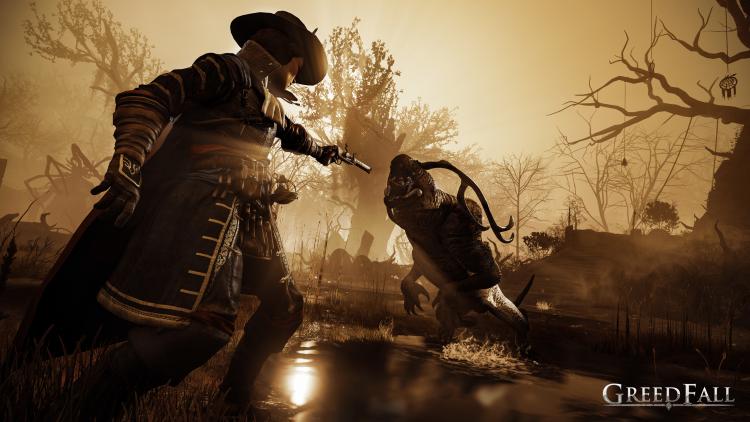 """gamescom 2019: создание персонажа, враждующие фракции и ролевые механики в GreedFall"""""""