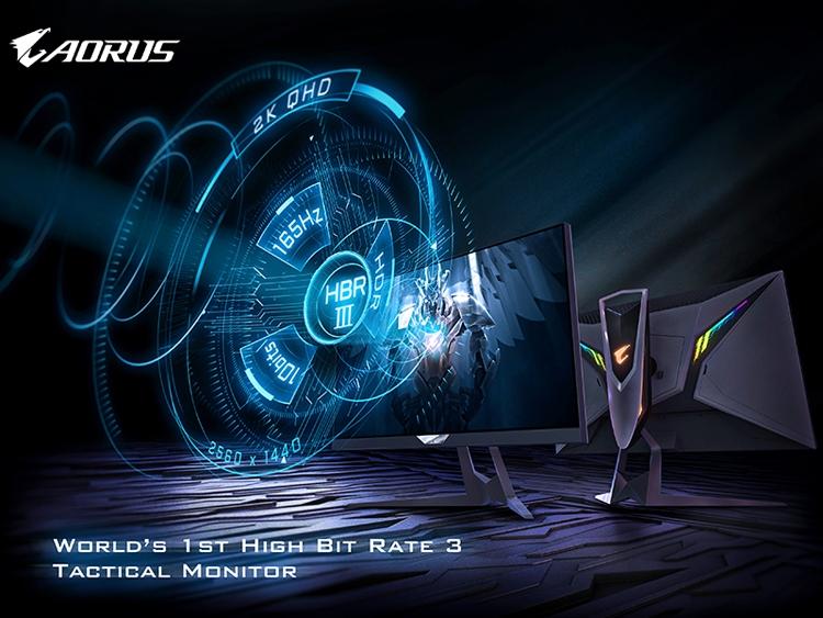 """GIGABYTE Aorus FI27Q-P: первый игровой QHD-монитор с поддержкой High Bit Rate 3"""""""