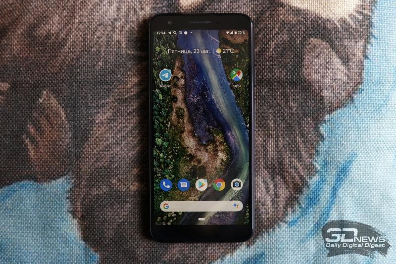 Обзор смартфона Google Pixel 3a: возвращение Nexus?