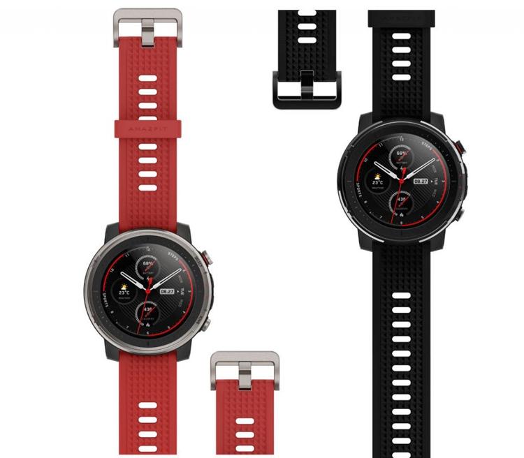 Смарт-часы Amazfit Smart Sports Watch 3 и Amazfit GTS с датчиком ЧСС не боятся воды