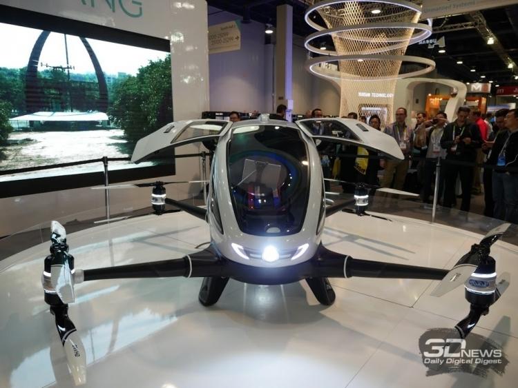 """Китай может стать первой в мире страной с регулярными перевозками пассажиров беспилотными дронами"""""""