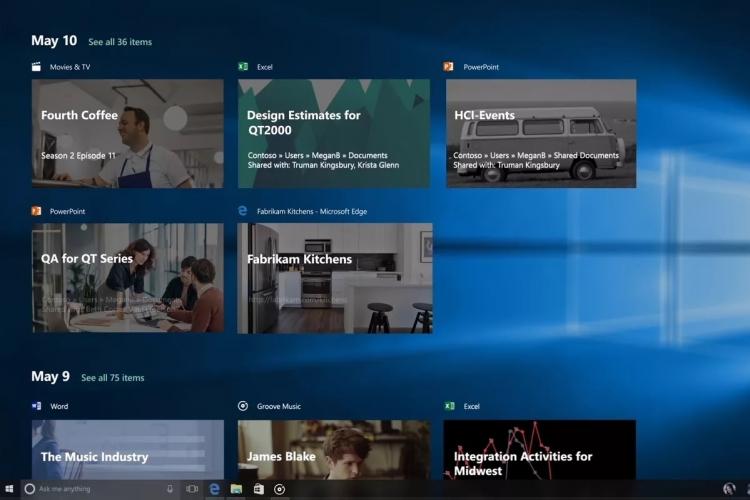 """Microsoft добавит поддержку Timeline в новый Edge"""""""