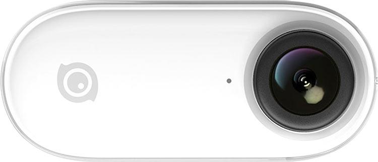 """Insta360 Go — 20-граммовая носимая камера для Instagram со стабилизацией FlowState"""""""