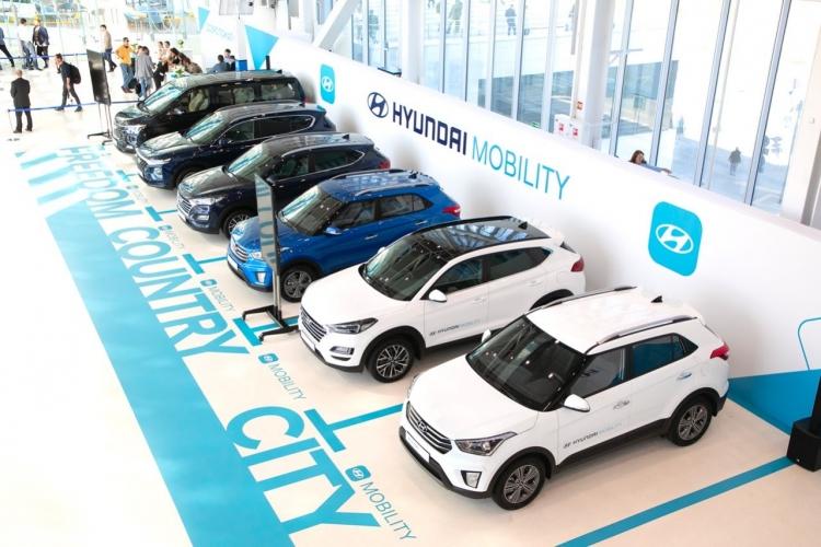 """Hyundai предлагает россиянам арендовать автомобили на срок до 1 года"""""""