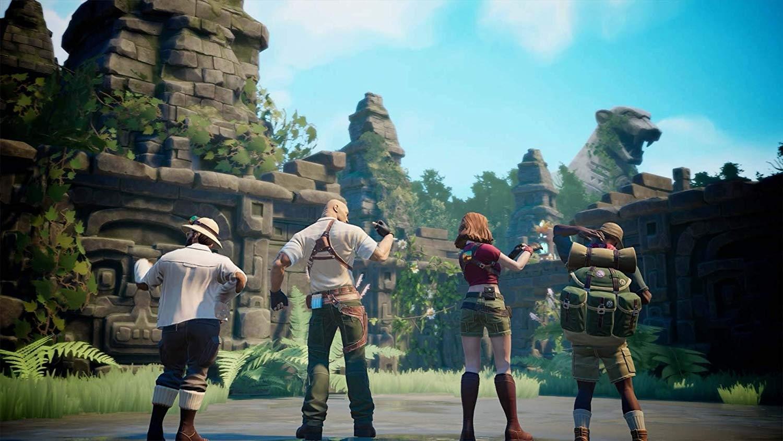 Трейлер с геймплеем игры по мотивам «Джуманджи» выглядит не очень хорошо