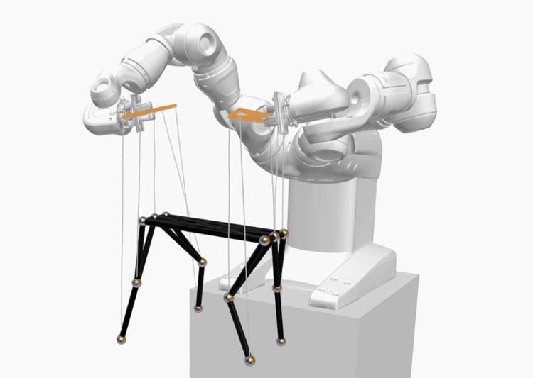 """Швейцарские учёные показали робота-кукольника: путь от марионеток до упаковки мягких товаров"""""""