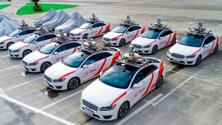 """Китайский конкурент Uber запустит сервис роботакси в Шанхае"""""""