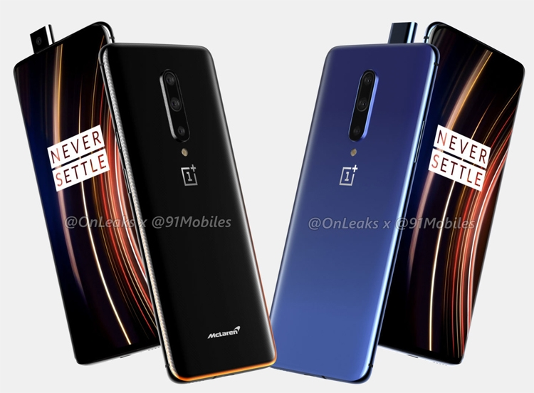 "Флагманский смартфон OnePlus 7T Pro красуется на рендерах"""