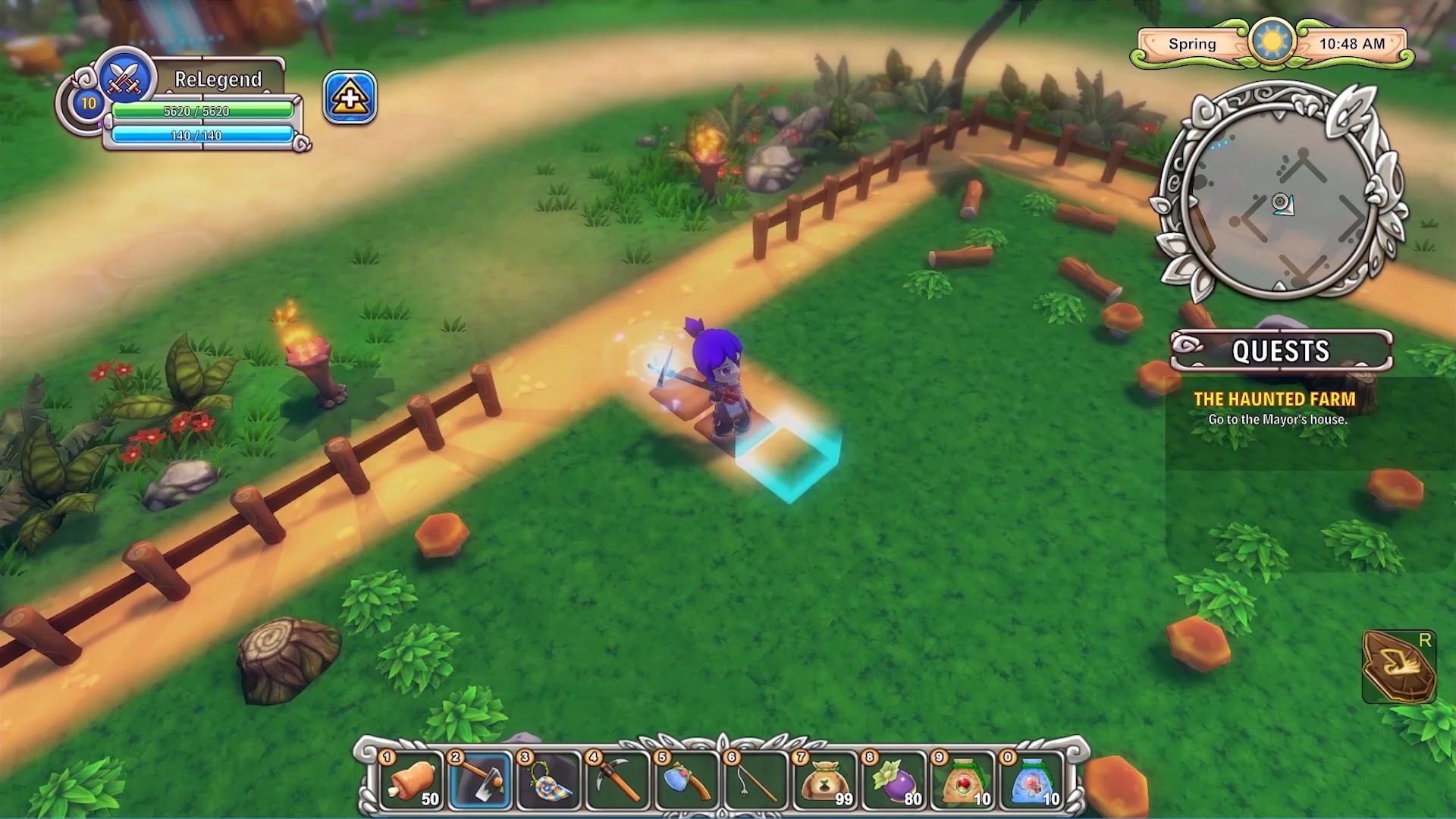 Красочный аниме-трейлер гибрида симулятора и JRGP к появлению Re:Legend в раннем доступе