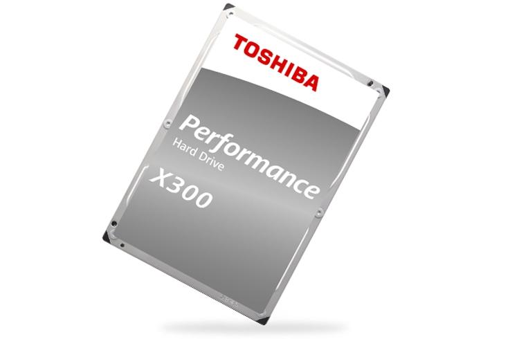 """Теперь и 16 Тбайт: представлен новый диск Toshiba X300 для ПК"""""""